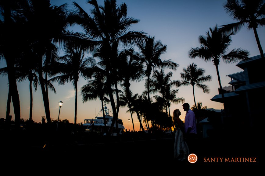 Engagement Session at Ocean Reef Club