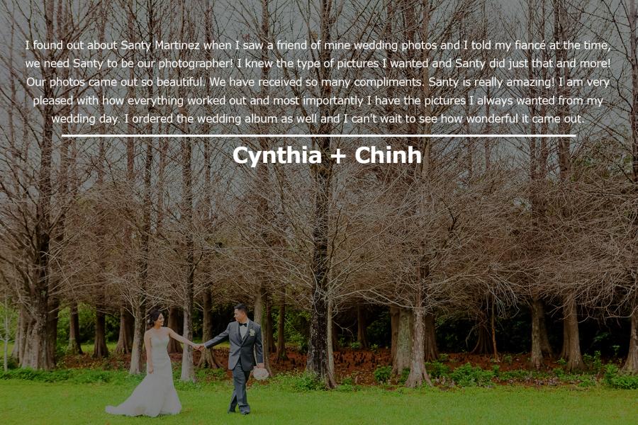 Cynthia + Chinh