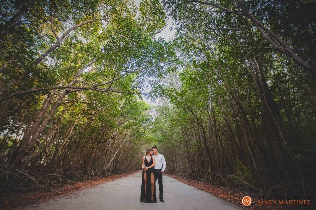 Miami Firefighter Engagement Session - Photography by Santy Martinez-19