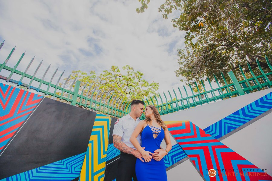 Miami Firefighter Engagement Session - Photography by Santy Martinez-2