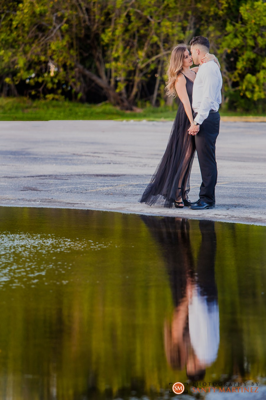 Miami Firefighter Engagement Session - Photography by Santy Martinez-21