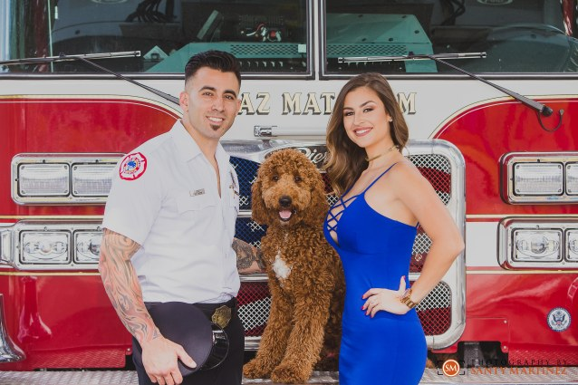 Miami Firefighter Engagement Session - Photography by Santy Martinez-4