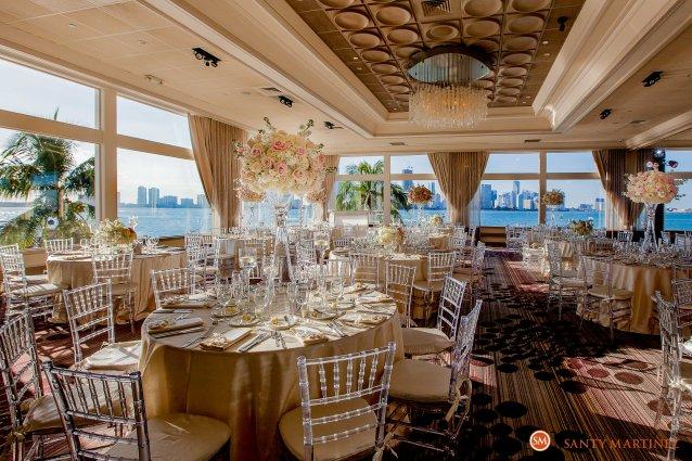 Wedding - St Hugh Catholic Church - Rusty Pelican - Key Biscayne - Photography by Santy Martinez-35