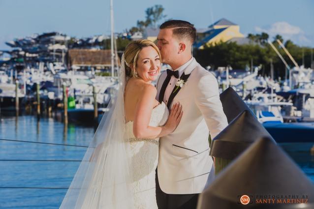 Wedding - St Hugh Catholic Church - Rusty Pelican - Key Biscayne - Photography by Santy Martinez-36