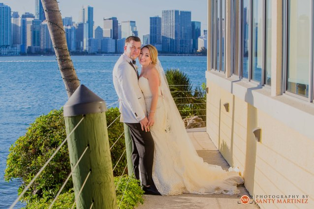 Wedding - St Hugh Catholic Church - Rusty Pelican - Key Biscayne - Photography by Santy Martinez-37