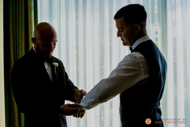 Wedding - St Hugh Catholic Church - Rusty Pelican - Key Biscayne - Photography by Santy Martinez-7